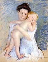 Maternal Tenderness, 1908, cassatt