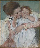 Matertiny, 1897, cassatt