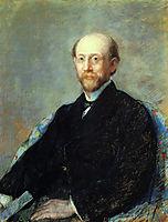 Moise Dreyfus, 1879, cassatt