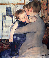 Mother And Child, 1889, cassatt