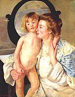 Mother and child, 1898, cassatt