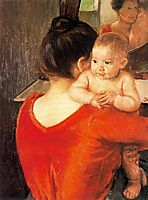 Mother and Child, 1900, cassatt