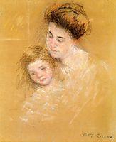 Mother and Child, c.1908, cassatt