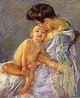 Motherhood, c.1906, cassatt