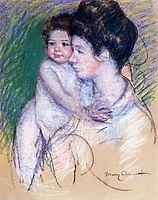 Motherhood, c.1902, cassatt
