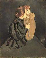 Peasant Mother and Child, 1894, cassatt