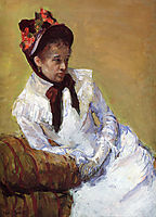 Portrait Of The Artist, 1878, cassatt