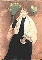 Portrait of the Artist s Mother, 1890, cassatt