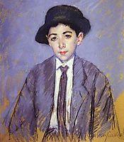 Portrait of Charles Dikran Kelekian, 1910, cassatt