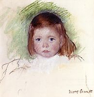 Portrait of Ellen Mary Cassatt, c.1898, cassatt