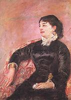 Portrait of an Italian Lady, 1878, cassatt