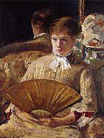 Portrait of a Lady, 1877, cassatt