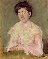 Portrait of a Lady, c.1890, cassatt