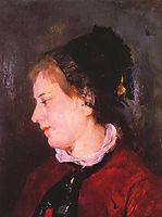 Portrait of Madame Sisley, 1873, cassatt