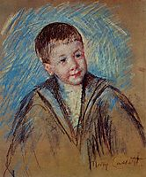 Portrait of Master St. Pierre, c.1892, cassatt