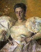 Portrait of Mrs. H. O. Hevemeyer, 1896, cassatt