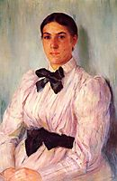 Portrait of Mrs. William Harrison, 1890, cassatt