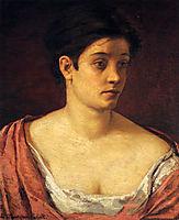 Portrait Of A Woman, 1872, cassatt