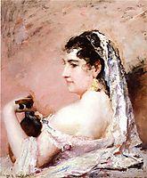 Roman Girl, 18, cassatt