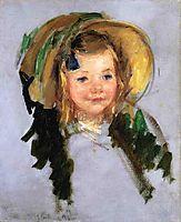 Sara in a Bonnet, cassatt