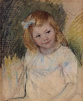 Sara Looking towards the Right, c.1901, cassatt