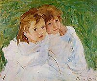 The Sisters, 1885, cassatt