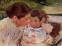 Susan Comforting the Baby (no.1), c.1881, cassatt