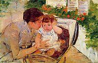 Susan Comforting the Baby (no.2), c.1881, cassatt