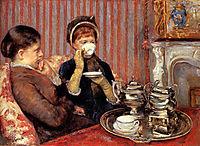 Tea, 1879-1880, cassatt
