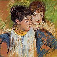 The Two Sisters, 1893-1894, cassatt