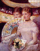 Two Women in a Theater Box, 1881-1882, cassatt