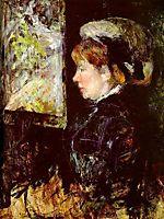 The Visitor, c.1880, cassatt
