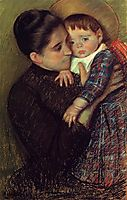Woman and Her Child, 1889-1890, cassatt