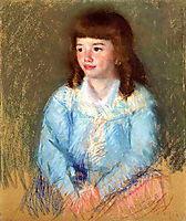 Young Boy in Blue, c.1906, cassatt