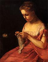 The Young Bride, 1875, cassatt