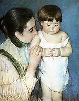 Young Thomas And His Mother, 1893, cassatt
