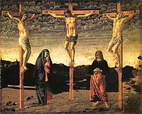 Crucifixion, c.1450, castagno