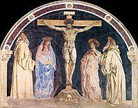 Crucifixion, c.1455, castagno