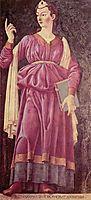The Cuman Sibyl, c.1450, castagno