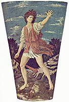 David with the Head of Goliath, c.1453, castagno