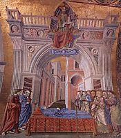 Dormition of the Virgin, c.1443, castagno