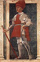 Farinata degli Uberti, c.1450, castagno
