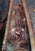 God the Father, 1442, castagno