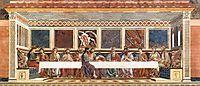 The Last Supper, 1447, castagno