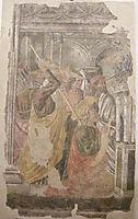 Martyrdom of St. Thomas, castagno