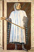 Niccolò Acciaioli, c.1450, castagno