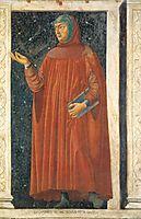 Petrarch, c.1450, castagno