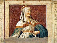 Queen Esther, c.1450, castagno