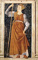 Queen Tomyris, c.1450, castagno