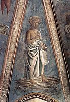 St. John the Baptist, 1442, castagno